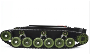 Large Arduino Robot Tank Chassis (Rubber Track)