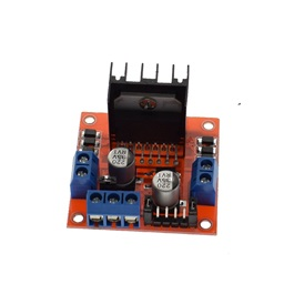 L298N Dual DC and Stepper Motor Driver (3-30V)